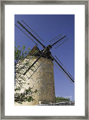 French Moulin Framed Print by Bob Phillips