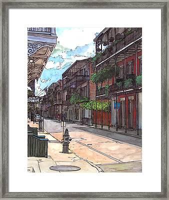 French Quarter Street 372 Framed Print by John Boles