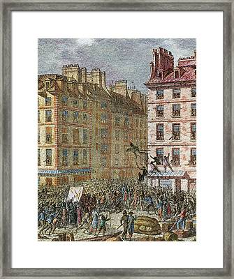 French Revolution (1789-1799 Framed Print by Prisma Archivo