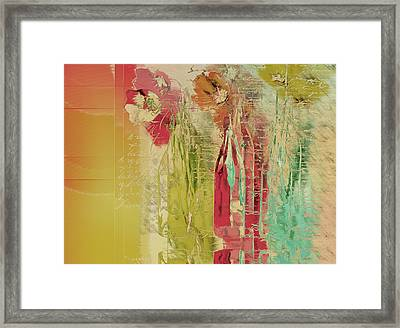 French Still Life - A09 Framed Print by Variance Collections
