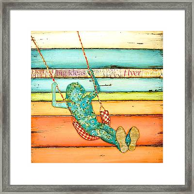Frequent Flyer Framed Print by Danny Phillips