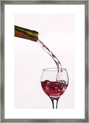 Fresh Bottle - Textured Framed Print by Matthew Thomson