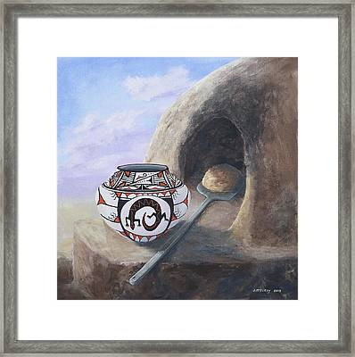 Fresh Bread Framed Print by Jerry McElroy