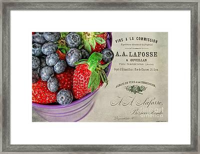 Fresh Fruits Framed Print by Darren Fisher