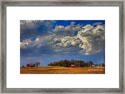 Fresh Paint Framed Print by Reid Callaway