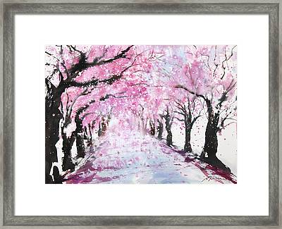 Fresh Pick No.393 Framed Print by Sumiyo Toribe