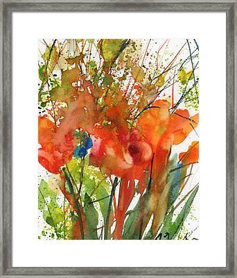 Fresh Pick No.9 Framed Print by Sumiyo Toribe