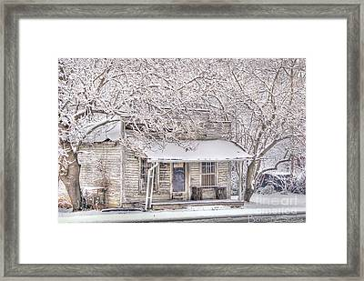Freshwater Grocery Framed Print by Benanne Stiens