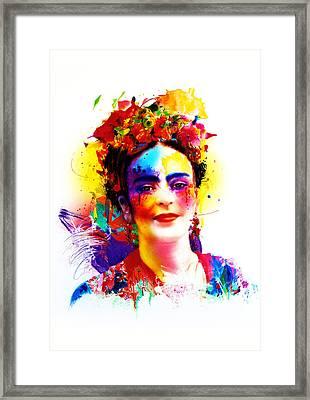 Frida Kahlo Framed Print by Isabel Salvador