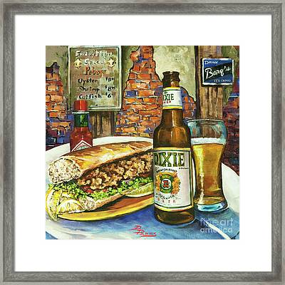 Friday Night Special Framed Print by Dianne Parks