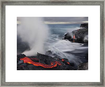 Fried Feet Framed Print by Miles Morgan