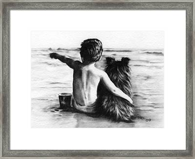 Friends Forever Framed Print by Natasha Denger