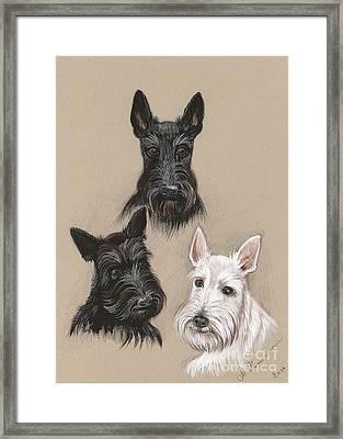 Friends Framed Print by Margaryta Yermolayeva