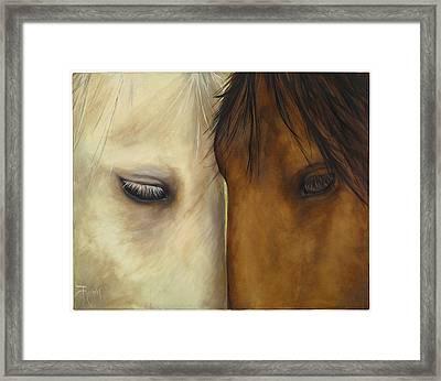 Friends Framed Print by Suzie Richey