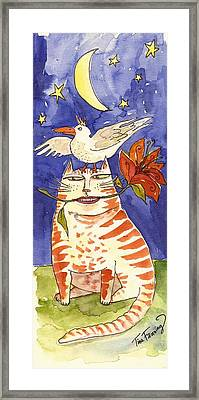 Friends Framed Print by Tina Fanning
