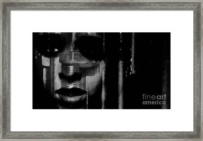 Frightened By Those Who Dont See It Framed Print by Jessica Shelton