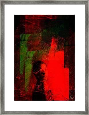 Frightening Passion Framed Print by Gun Legler