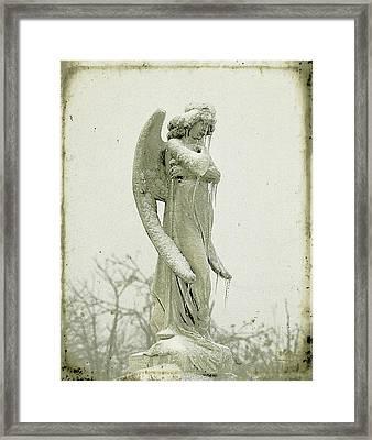 Frigid Angel Framed Print by Gothicolors Donna Snyder