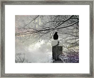 Frigid Framed Print by Gothicolors Donna Snyder