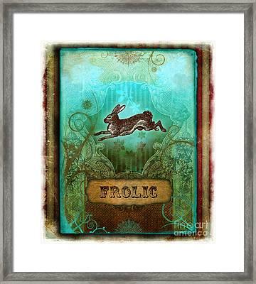 Frolic Framed Print by Aimee Stewart