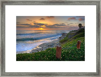 From Above II Framed Print by Peter Tellone