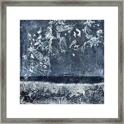 From And To The Sea Framed Print by Carol Leigh