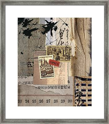 From Books Framed Print by Carol Leigh