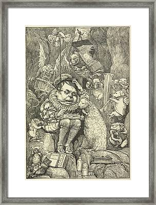 From Fit The Fifth: The Beaver's Lesson Framed Print by British Library