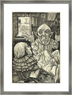 From Fit The Third: The Baker's Tale. Framed Print by British Library