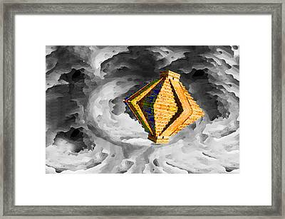 From Here To Another Here 6 Framed Print by Bruce Iorio