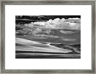 from Kamiak Butte Framed Print by Latah Trail Foundation