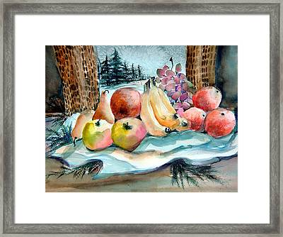 From My Window Framed Print by Mindy Newman