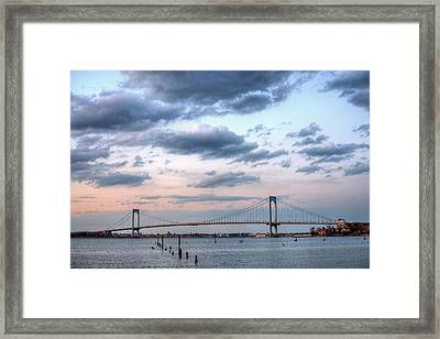 From Queens To The Bronx Framed Print by JC Findley