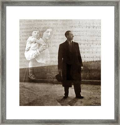 From Russia With Love Framed Print by Jessica Jenney