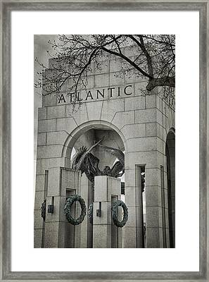 From The Atlantic Framed Print by Joan Carroll
