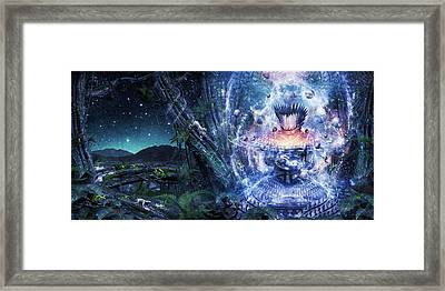 From The Broken Grow The Saved Framed Print by Cameron Gray