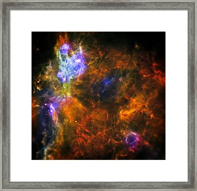 From The Darkness Framed Print by The  Vault - Jennifer Rondinelli Reilly