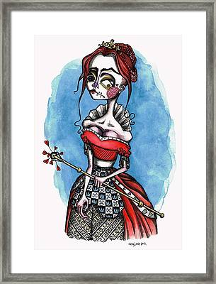 From The Heart Of The Matter Framed Print by Kelly Jade King