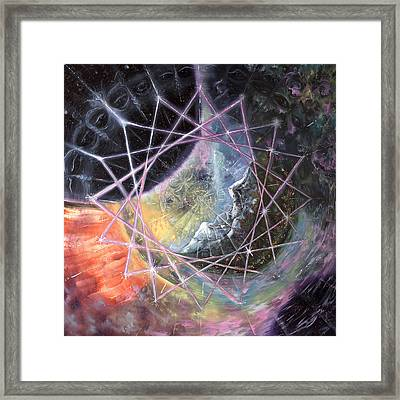 From The Inward Outward Framed Print by Jerod  Kytah