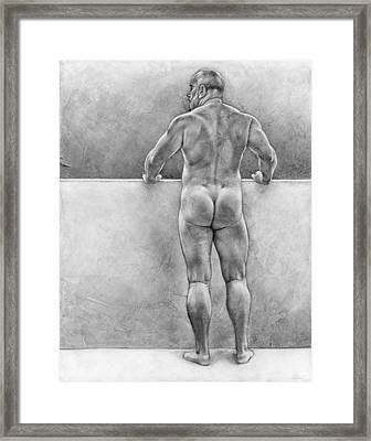 From The Other Side 4 Framed Print by Chris  Lopez
