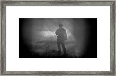 From The Smoke Framed Print by Buster Brown
