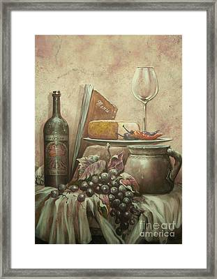From The Vine Framed Print by Martin Lacasse