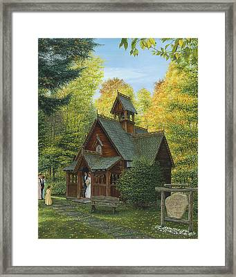 From This Day Forward Framed Print by Doug Kreuger