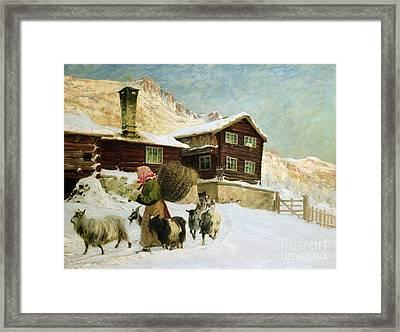 From Vaga Framed Print by Gustav Wentzel