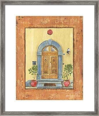 Front Door 1 Framed Print by Debbie DeWitt