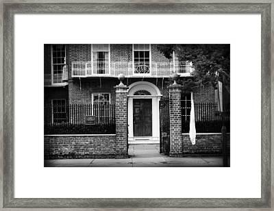 Front Door Framed Print by Kelly Hazel