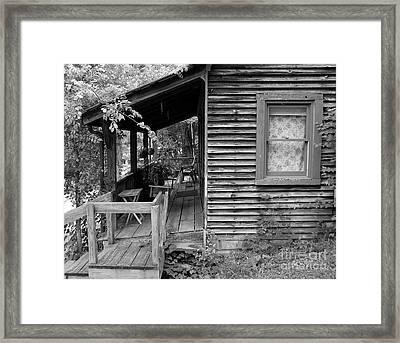 Front Porch Framed Print by Mel Steinhauer