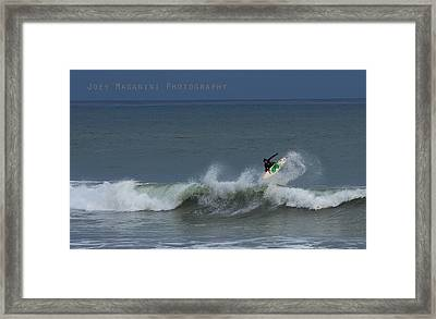Frontside  Framed Print by Joey  Maganini