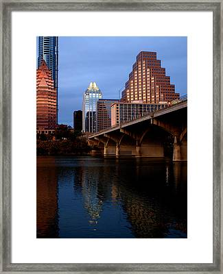 Frost Across The River Framed Print by James Granberry