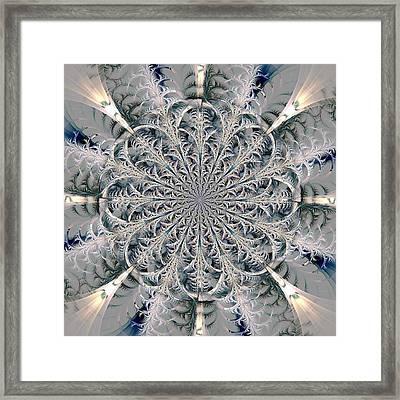 Frost Seal Framed Print by Anastasiya Malakhova